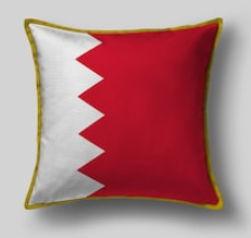 Подушка с флагом Бахрейна