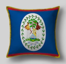 Подушка с флагом Белиза