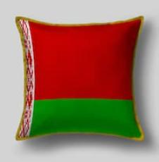Подушка с флагом Белоруссии