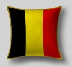 Подушка с флагом Бельгии