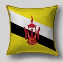 Подушка с флагом Брунея