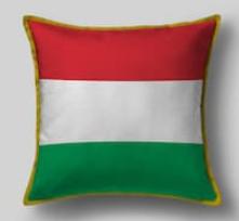 Подушка с флагом Венгрии