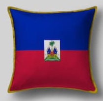 Подушка с флагом Гаити