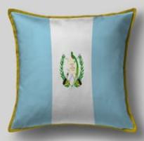 Подушка с флагом Гватемалы