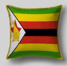 Подушка с флагом Зимбабве