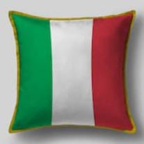 Подушка с флагом Италии