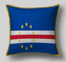 Подушка с флагом Кабо Верде