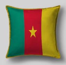Подушка с флагом Камеруна