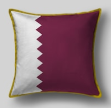 Подушка с флагом Катара