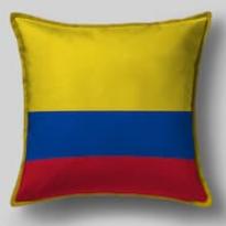 Подушка с флагом Колумбии