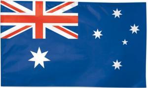 Флаг Австралии двусторонний