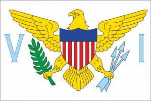 Флаг Американских Виргинских островов двусторонний
