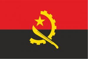 Флаг Анголы двусторонний
