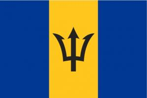 Флаг Барбадоса двусторонний