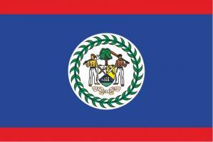 Флаг Белиза двусторонний