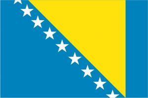 Флаг Боснии и Герцеговины двусторонний