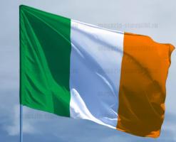 Флаг Ирландии двусторонний, блэкаут