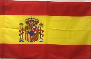 Флаг Испании двусторонний, блэкаут