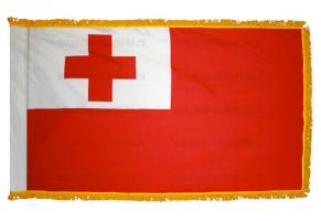Флаг Тонга с бахромой