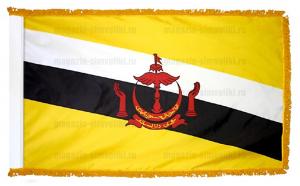 Флаг Брунея с бахромой