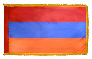 Флаг Армении с бахромой