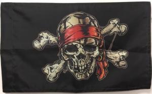Пиратский флаг 40-60 см