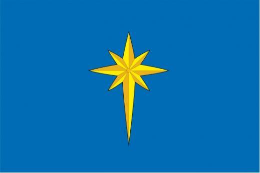 Флаг Звездного(Пермский край)