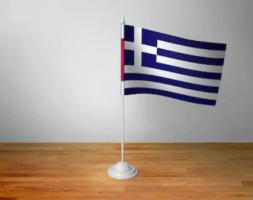 Флажок Греции настольный