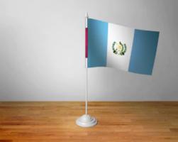 Флажок Гватемалы настольный