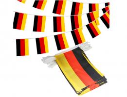 Флажная гирлянда с флагом Германии