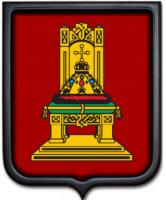 Герб Тверской области 35х43 см