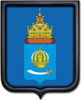 Герб Астраханской области 35х43 см