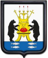 Герб Великого Новгорода 35х43 см
