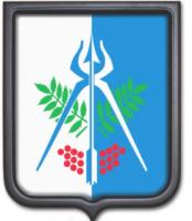 Герб Ижевска 35х43 см