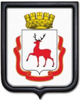 Герб Нижнего Новгорода 35х43 см