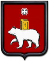 Герб Перми 35х43 см
