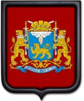 Герб Пскова 35х43 см