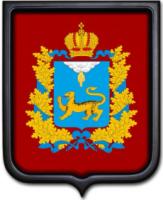 Герб Псковской области 35х43 см
