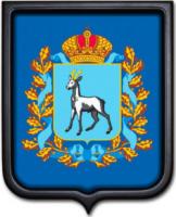Герб Самарской области 35х43 см