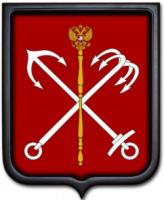 Герб Санкт-Петербурга 35х43 см
