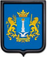 Герб Ульяновской области 35х43 см