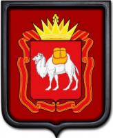 Герб Челябинской области 35х43 см