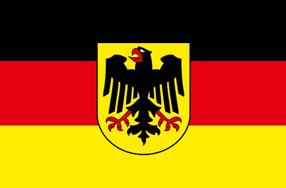 Германия с гербом
