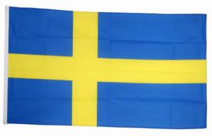 Флаг Швеции 90x135 см