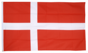 Флаг Дании 90x135 см