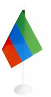 Флаг Дагестана настольный на подставке