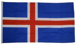 Флаг Исландии 90x135 см