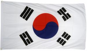 Флаг Южной Кореи 90x135 см