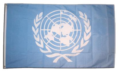 Флаг ООН 90x135 см