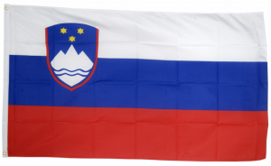 Флаг Словении 90x135 см
